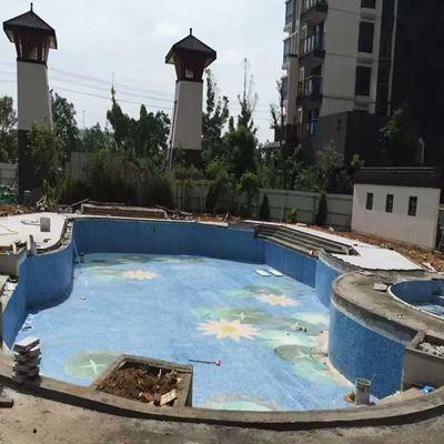 第七北海市南地海江南小区游泳池