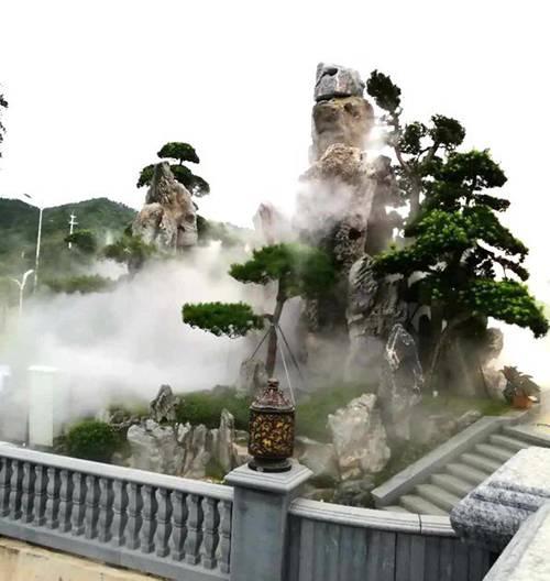 人造雾景观工程